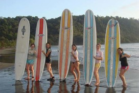 Surf lessons in Jaco Costa Rica